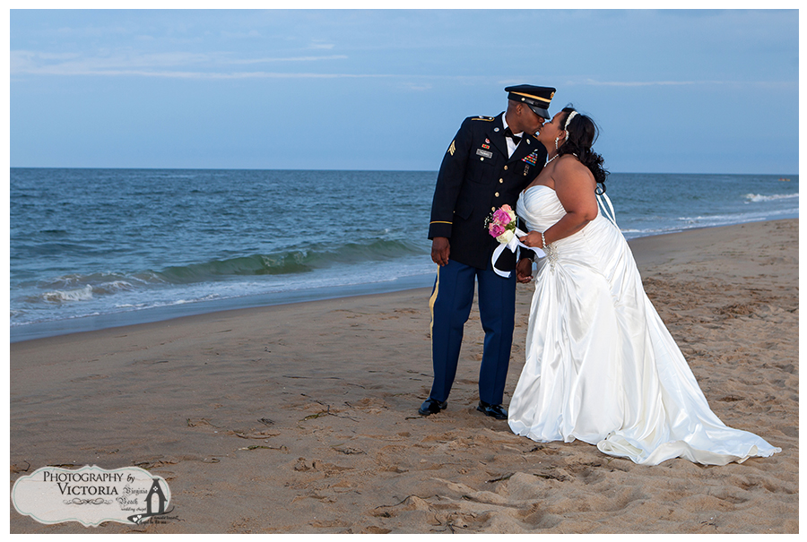 Sandbridge Beach Wedding Elopement Consuella Antonio